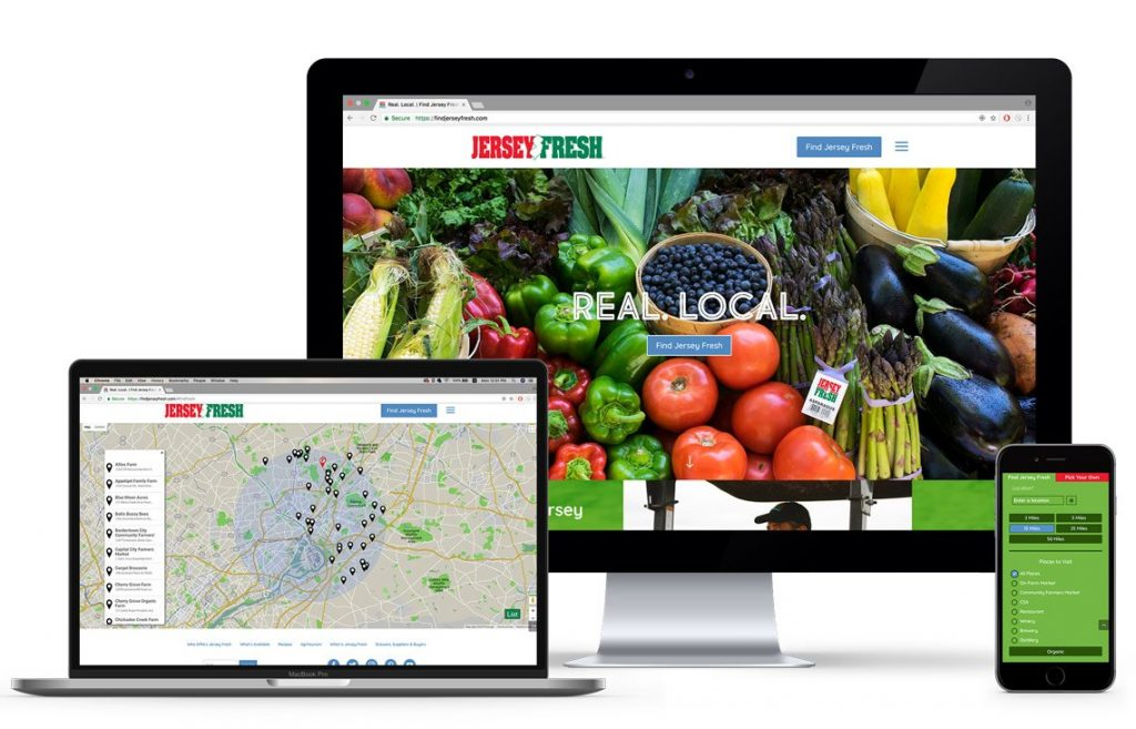 FindJerseyFresh.com Government website design and development