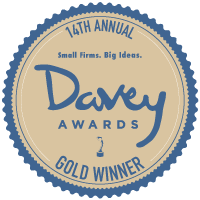2018 Davey Awards Gold Award Winner in Economically Friendly/Green Websites