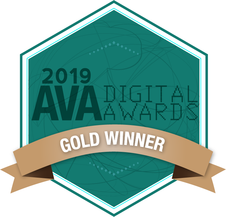 Mobile Website Information Experience Award (Gold, AVA Digital)