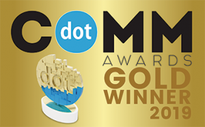International Award: dotComm Awards 2019 Gold Winner