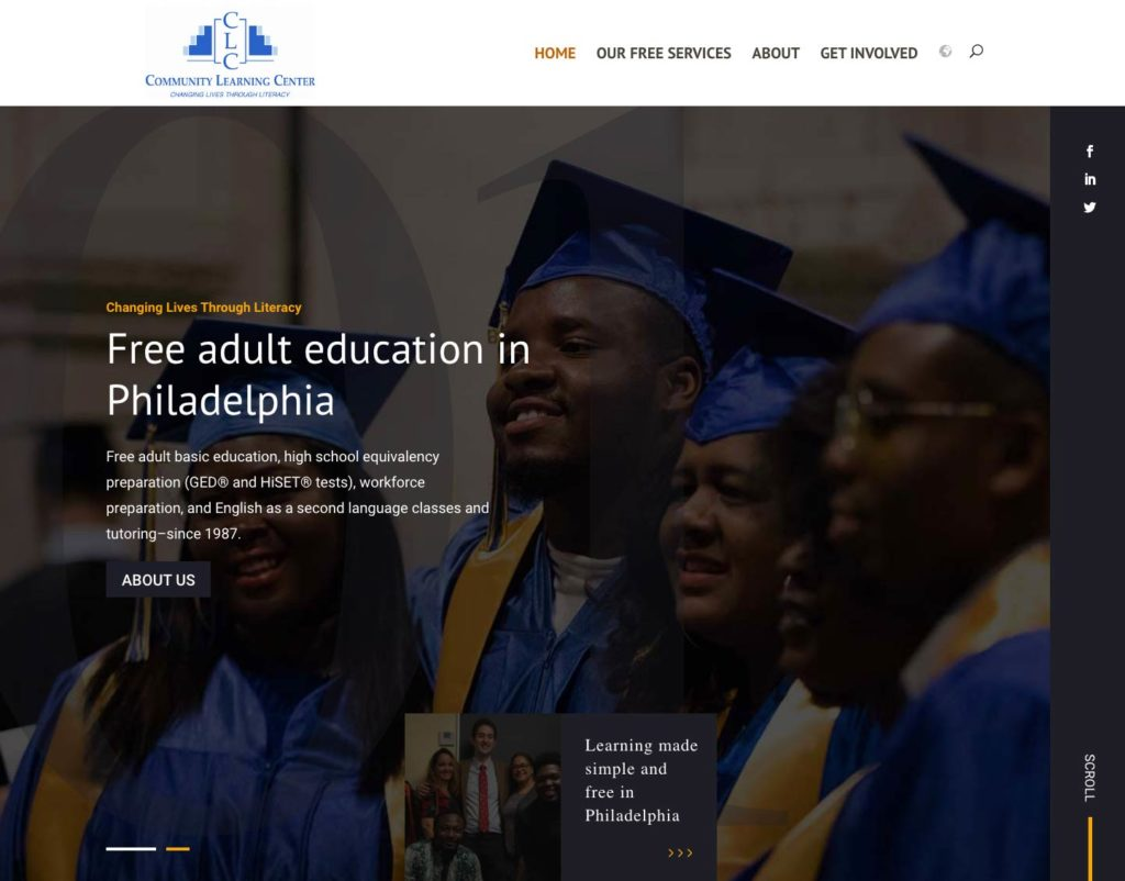 Adult education in Philadelphia, digital literacy, and GED education